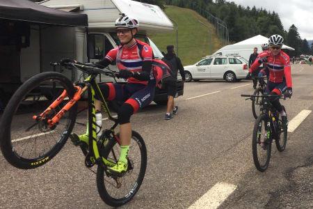 Petter Fagerhaug vant verdenscupen. Foto: Eddy Knudsen Storsæter