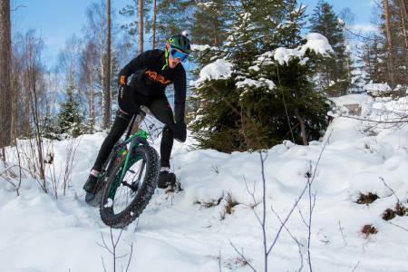 Ole Christian Fagerli var bare 20 sekunder bak sin egen løyperekord på en vesentlig mer krevende dag. Foto: Per- Eivind Syvertsen