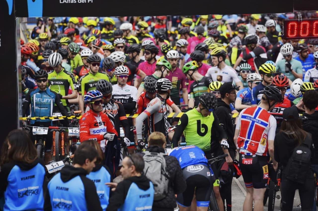De norske leverte flere sterke plasseringer på åpningsetappen av Costa Blanca Bike Race i dag. Foto: Arrangøren
