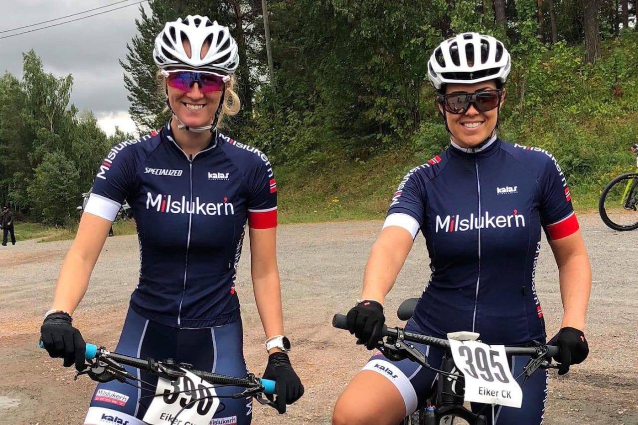 Kaja Berge og Kristin Bye Weyer-Larsen sykler UltraBirken sammen neste helg. Foto: Joachim Fjeld