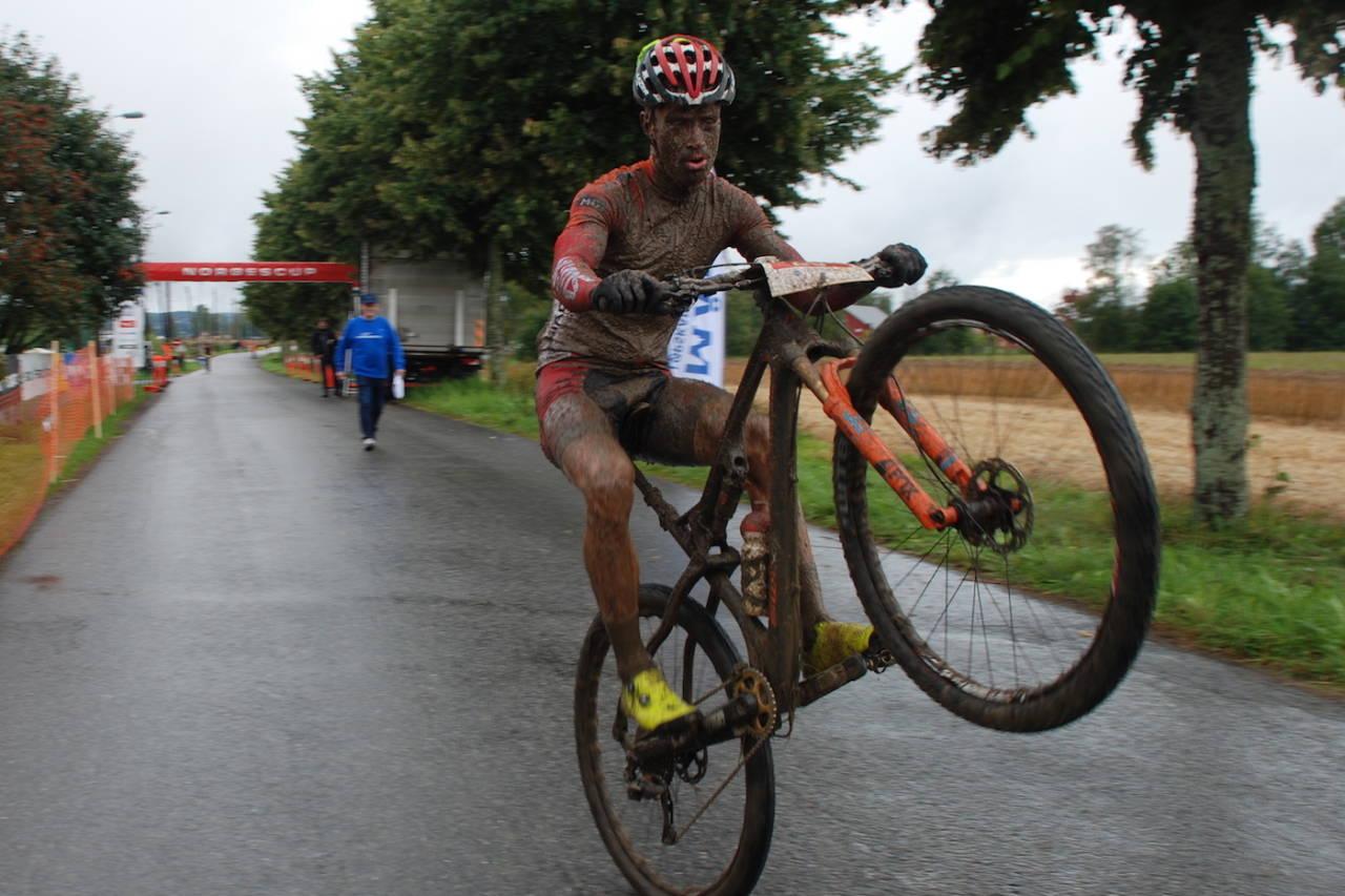 Emil Hasund Eid, som vant Stomperudrittet i fjor, er tilbake på start i år. Rittet er i år både finale i Norgescupen maraton og prøve-NM for 2019. Foto: Jon Wiik