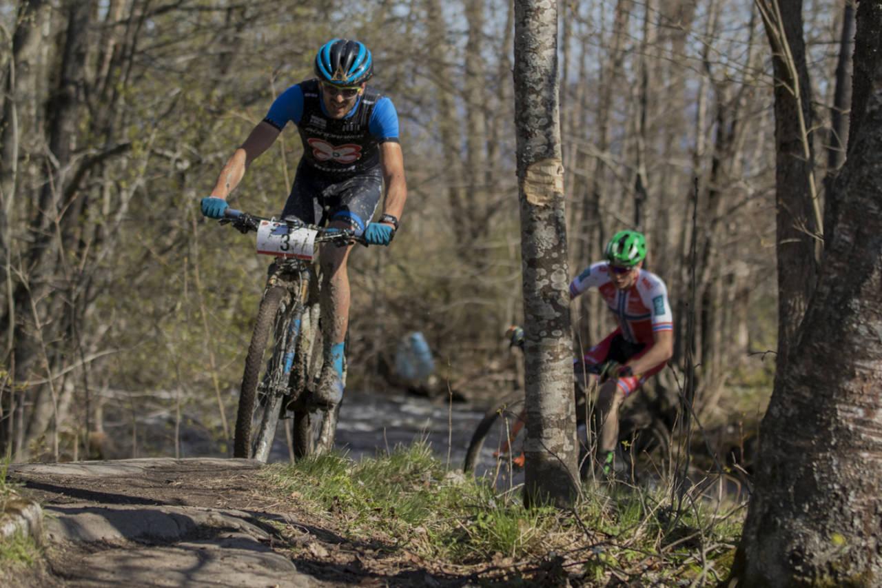 Det er Fiskum som står for Norgescupåpningen i rundbane også i år, og arrangøren forventer over 400 ryttere inkludert en rekke utenlandske eliteutøvere til rittene denne helga. Foto: Per-Eivind Syvertsen