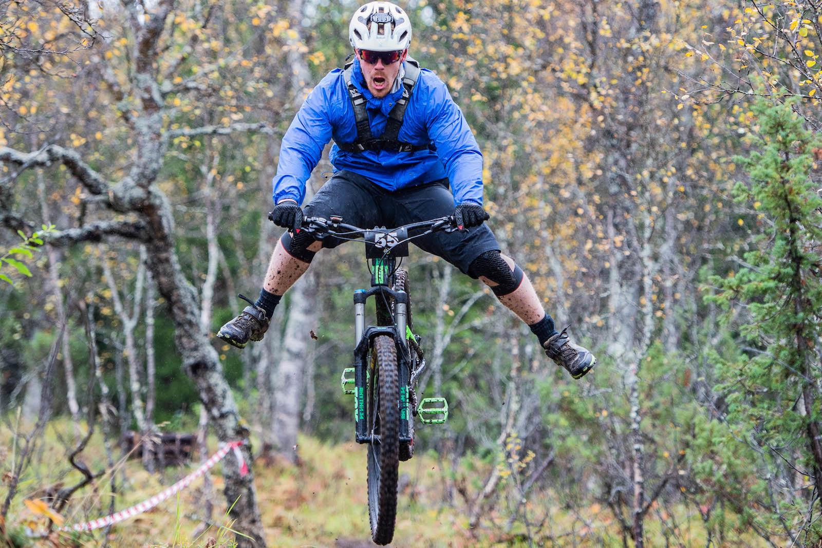 Harstad Enduro ble arrangert for første gang i fjor. I år er rittet tilbake med nye etapper og enda flere klasser. Foto: Hans Magnus Einen Larsen