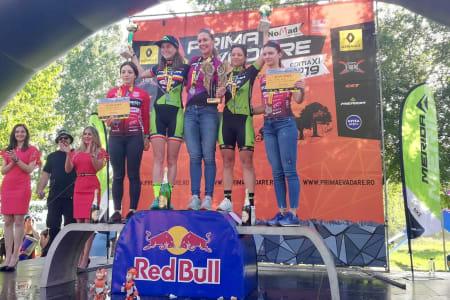 Gunn-Rita Dahle Flesjå vant maratonrittet Prima Evadare i Romania på søndag. Foto: Arrangøren