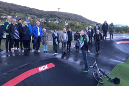 Harstad Sykkelpark ble trukket fram som skoleeksempel på anleggsutvikling da Norges idrettsforbund hadde seminar i september. Nå skal sykkelparken utvides. Foto: Harstad CK