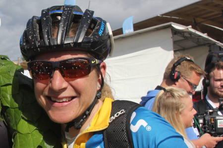 Jennie Stenerhag tok seieren i Grenserittet for tredje året på rad. Foto: Ingeborg Scheve