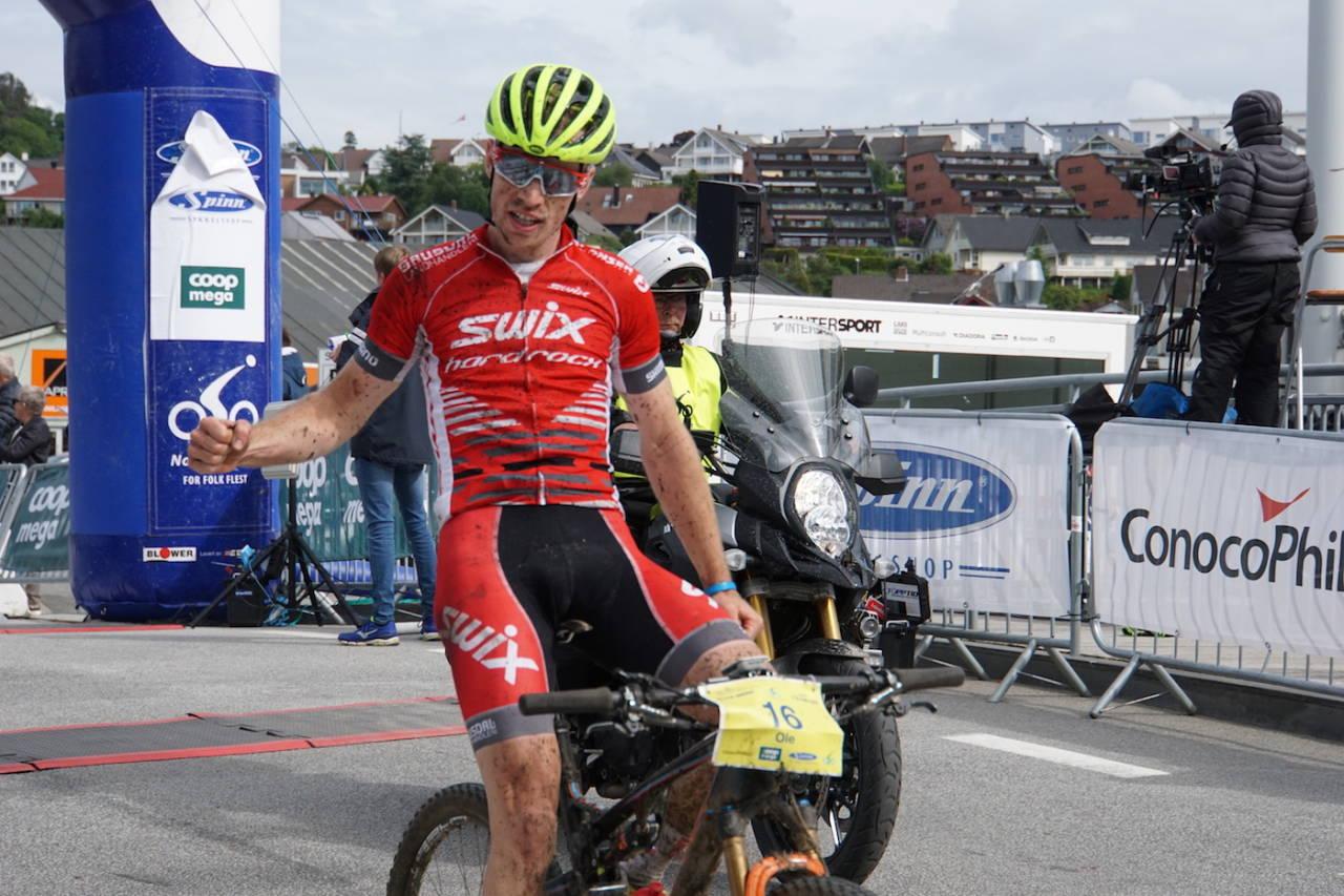 Ole Hem vant den første utgaven av Nordsjørittet MTB Marathon, og er tilbake for å forsvare seieren i år. Foto: Stine Haraldseth