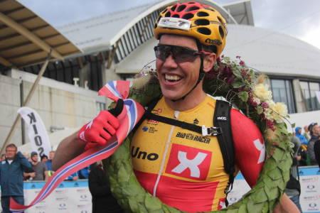 Erik Nordseter Resell har vunnet Birkebeinerrittet de to siste årene. Vinner han også i morgen? Foto: Ingeborg Scheve