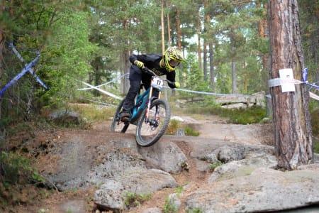 Atle Hagen Laakso under utfor-NM i Drammen i fjor. Det er ennå ingen søkere til verken NM eller Norgescup utfor 2019. Foto: NIclas Stensrud Andersen
