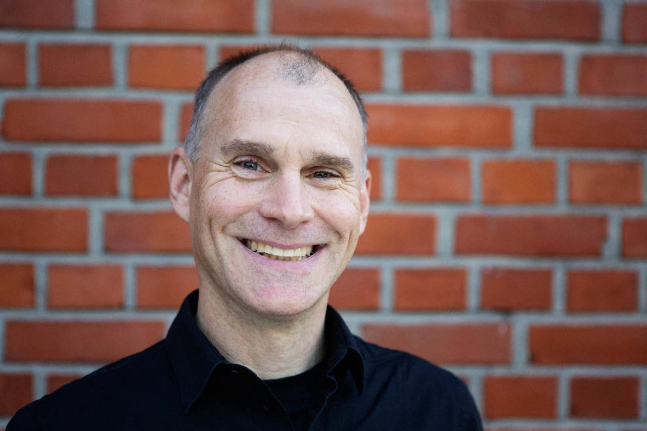Vidar Gundersen, som er ansvarlig for vernesaker og ferdselsrettigheter i NOTS, fikk hederlig omtale under IMBA Europe-konferansen i Danmark. Foto: Kristoffer Kippernes