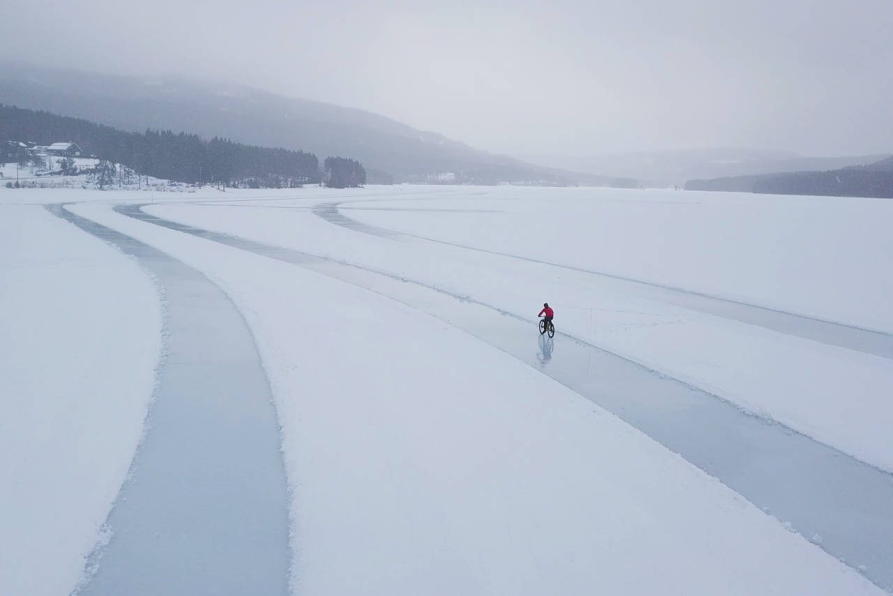 Kloppa Ice Race på Harestuvannet