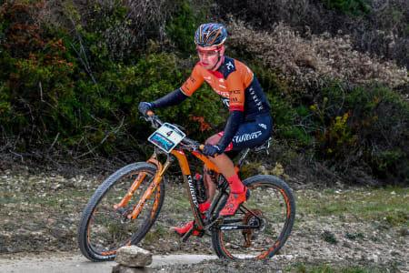 Ole Hem var nest beste rytter fra sitt lag under helgas granfondoritt i Toscana. Foto: Mediterranean Epic