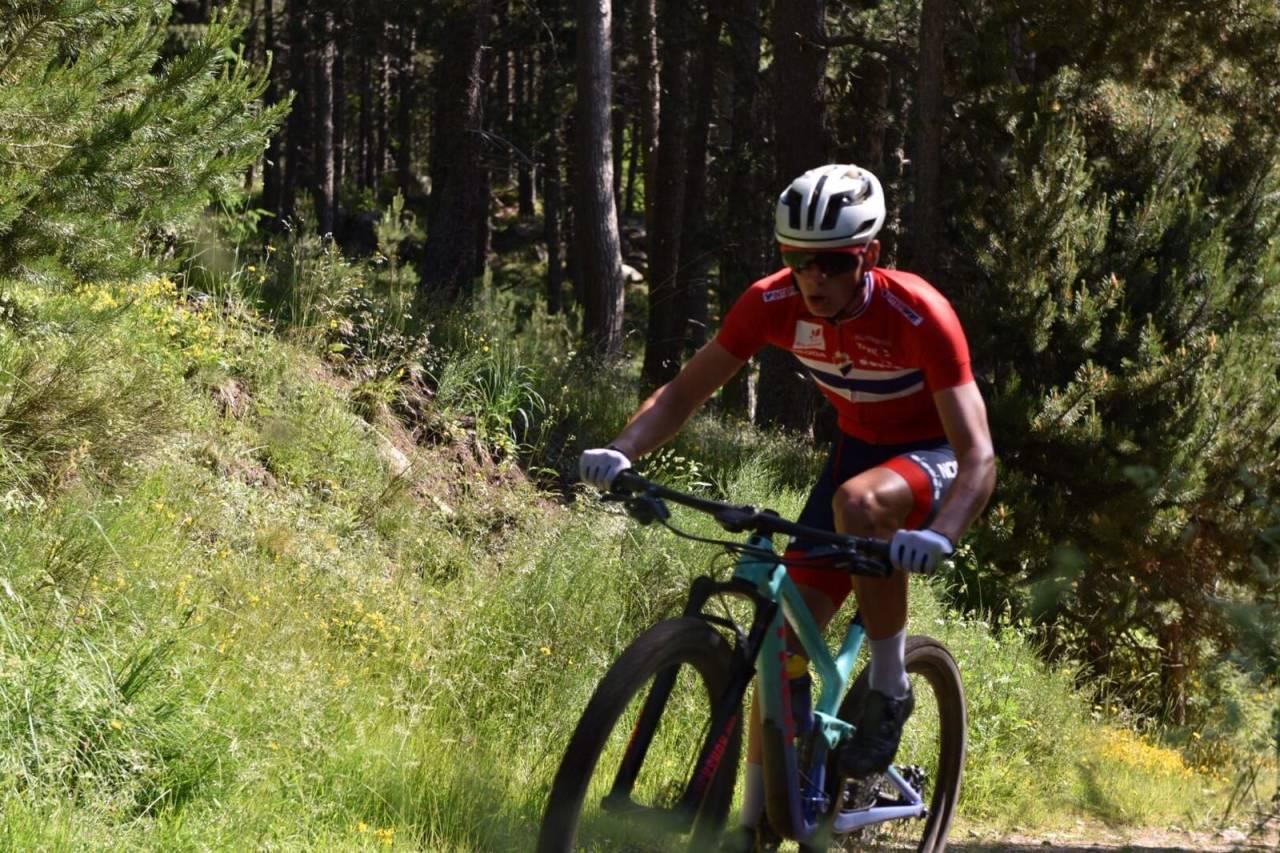 Anders Johannessen ble beste norske under verdenscupen i Andorra. Foto: Eddy Knudsen Storsæter