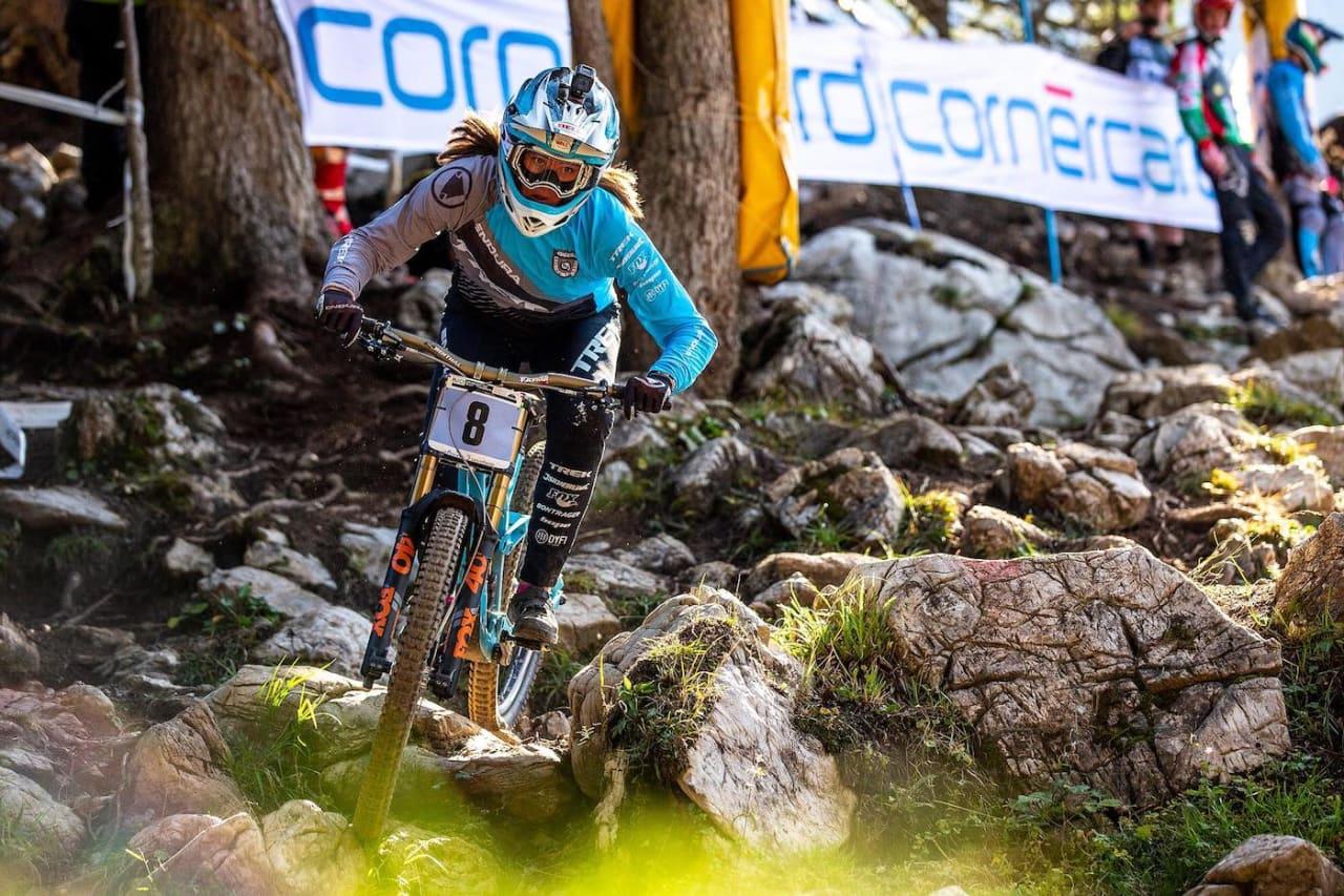 Mille Johnset ble nummer to i VM-seedingen. Foto: Sven Martin