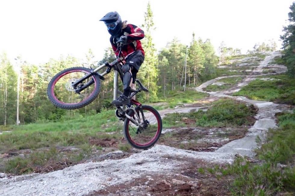 kjerringåsen sykkelpark østfold terrengsykkel