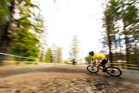 Fiskumrittet åpner som vanlig Norgescupen i rundbane, også i år med tempo og rundbane. Foto: Snorre Veggan