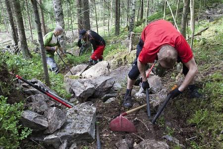 Kommende helg arrangerer NOTS stibyggerkurs i Oslo, for første gang på tre år. Foto: Bjørn Enoksen