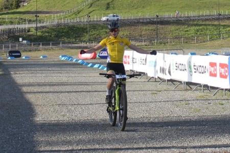 Ole Sigurd Rekdahl vant juniorklassen foran landslagskollega Emil Ravnåsen Vangen. Foto: NCF