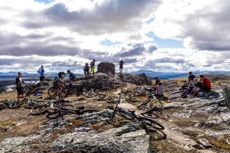 Røroscampen arrangeres for første gang i full skala kommende helg, med over 1000 kilometer stier å velge mellom. Foto: Haakon Funderud Lundkvist