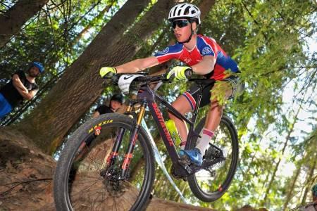 Jens Bergmann er foreløpig eneste mann på det nye UCI-laget Skeno-sFIT Helse Foto: Jakub Sarota