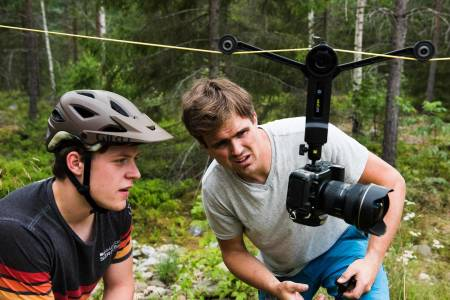 NY SERIE: Fotograf Vegard Breie har laget en serie på fem episoder om norske syklister. Foto: Håvard Brennhovd.
