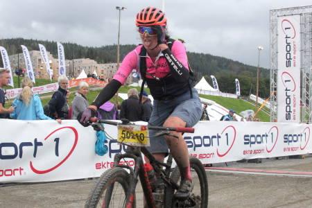 Martine Stenbro har siktet mot seier i UltraBirken helt siden andreplassen i fjor. Foto: Ingeborg Scheve