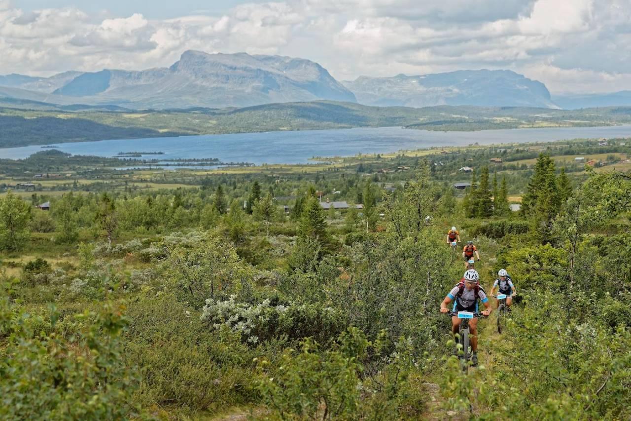 Offroad Valdres, som arrangeres 20. juli, åpner i år for å sykle alene også på rittets lengste distanse Helvegs. Foto: Ola Morken