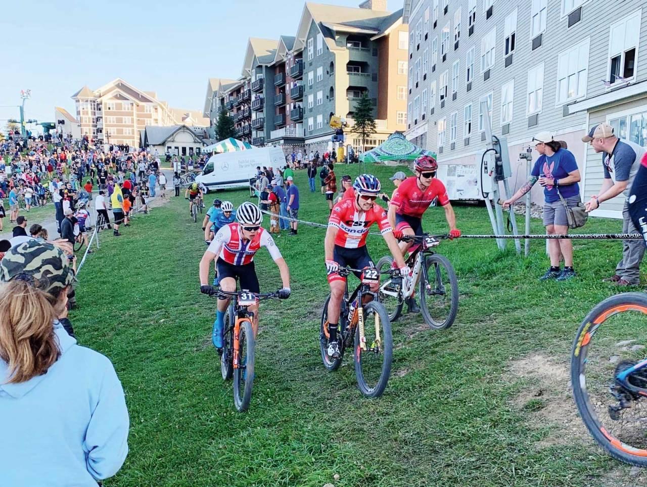 VEIEN MOT OL: Norge har levert over alle forventninger i terrengsykling denne sesongen. Her ved Erik Hægstad under kortbanerittet i Snowshoe, USA. Foto: Eddy Knudsen Storsæter