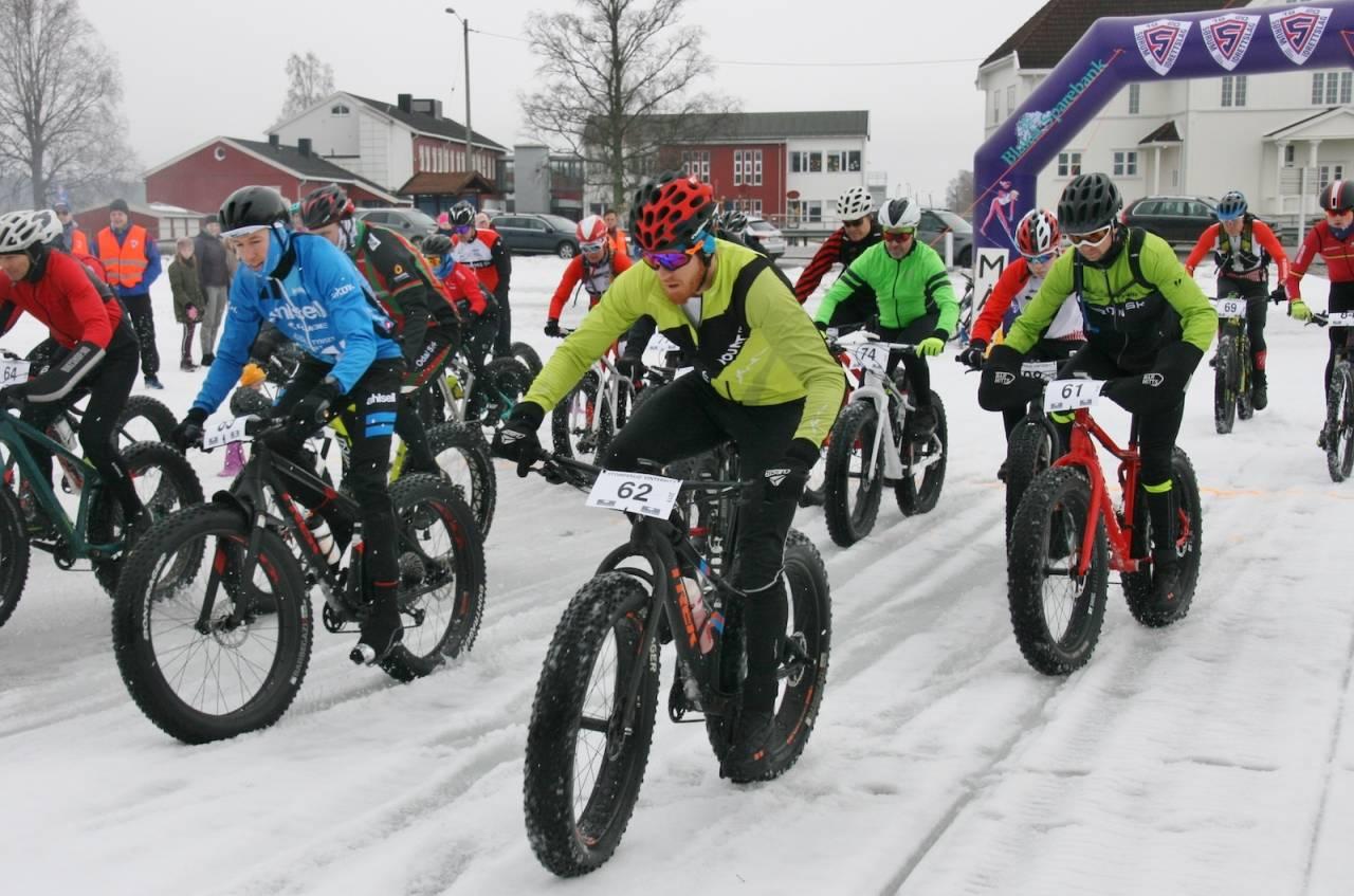 Stomperud vinterritt skulle vært arrangert 7.mars men er avlyst grunnet snømangel. Foto: Per Hannaseth