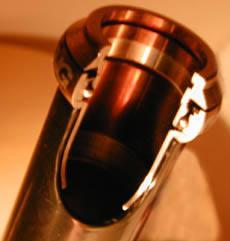 Steelset: Slik ser et tverrsnitt av lageret ut, ferdig montert i ramma.