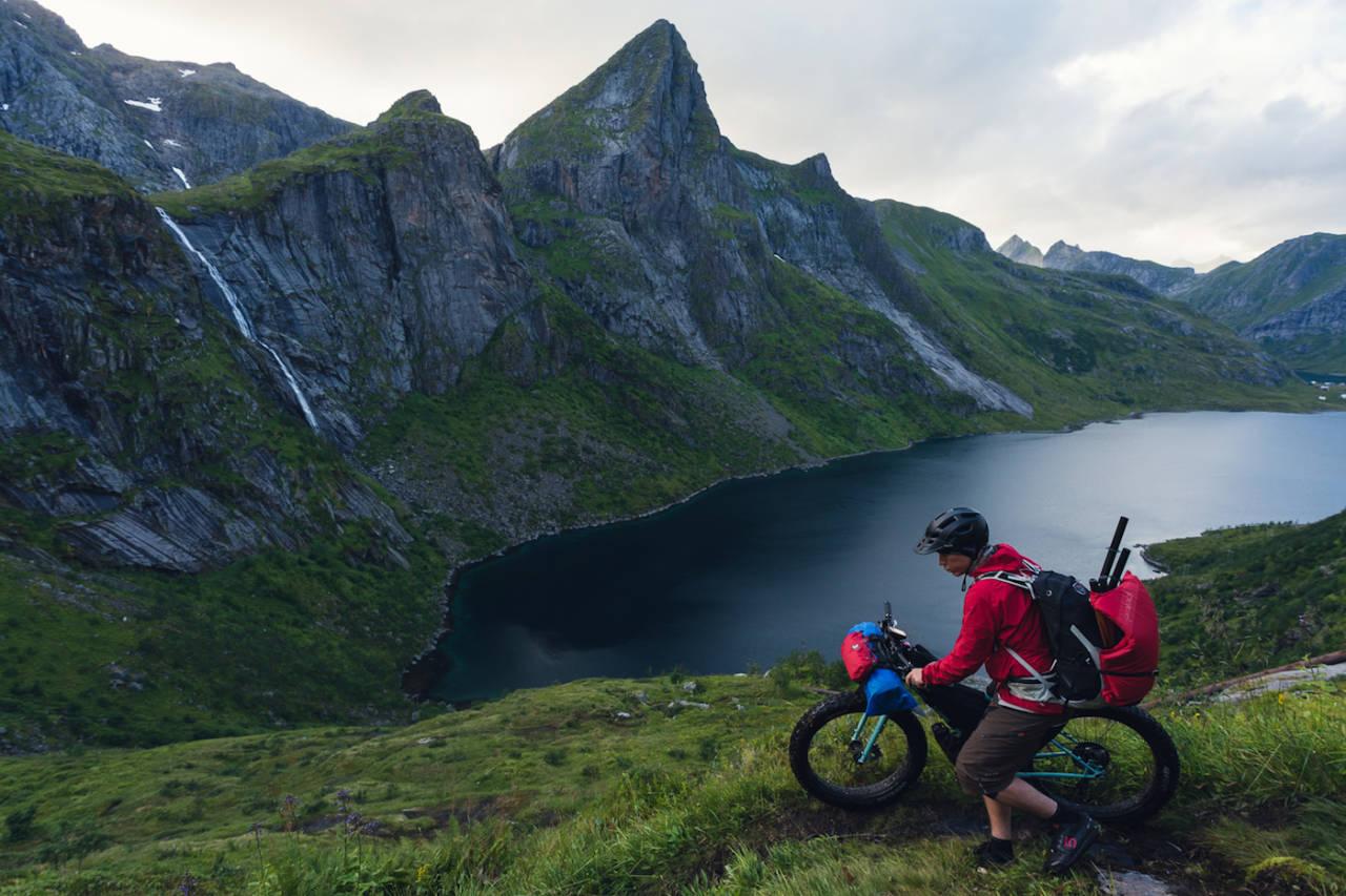 Norge er perfekt for bikepacking. Foto: Mikkel Soya Bølstad