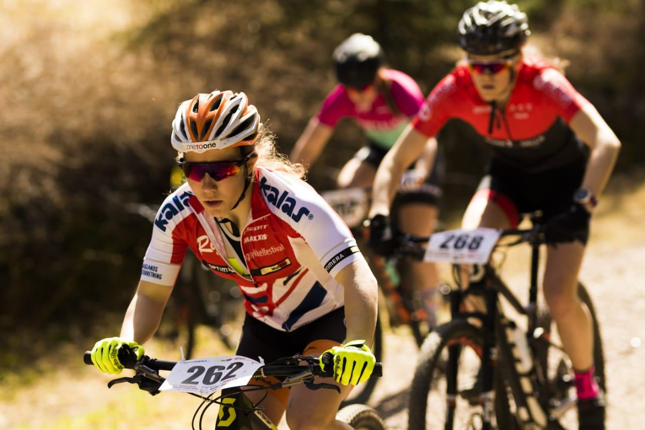 Helene Marie Fosseholm dominerte juniorklassen og vant Norgescupen sammenlagt med overlegen margin. I år er hun tatt ut på det relanserte rekrutteringslandslaget. Foto: Snorre Veggan