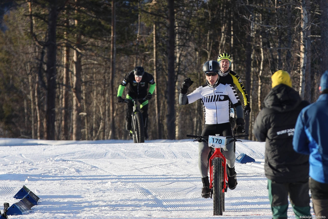 Daniel Boberg Leirbakken vant Arctic Alta Fatbike 2020