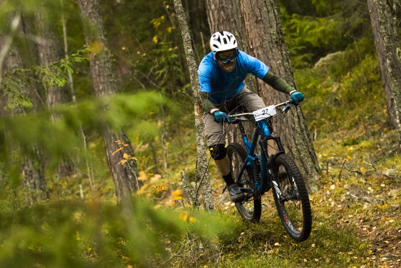 Ringerike Enduro ble en verdig avslutning på sesongen, med tette oppgjør i både dame- og herreklassene. Foto: Per-Eivind Syvertsen
