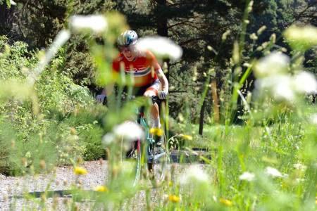 Anders Johannessen sto for Norges beste plassering i seniorklassen under rundbane-EM i Brno i Tsjekkia. Foto: Eddy Knudsen Storsæter
