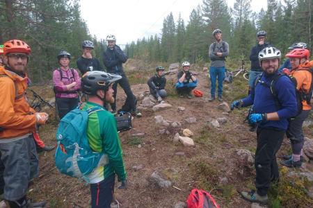 Sertifiserte de første norske guide-instruktørene på nivå to