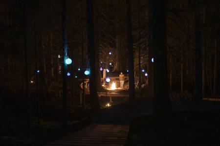 Lykteturen Gullia by Night er tilbake på programmet under årets utgave av Bike Out i Trysil Bike Arena. Foto: Fredrik Otterstad