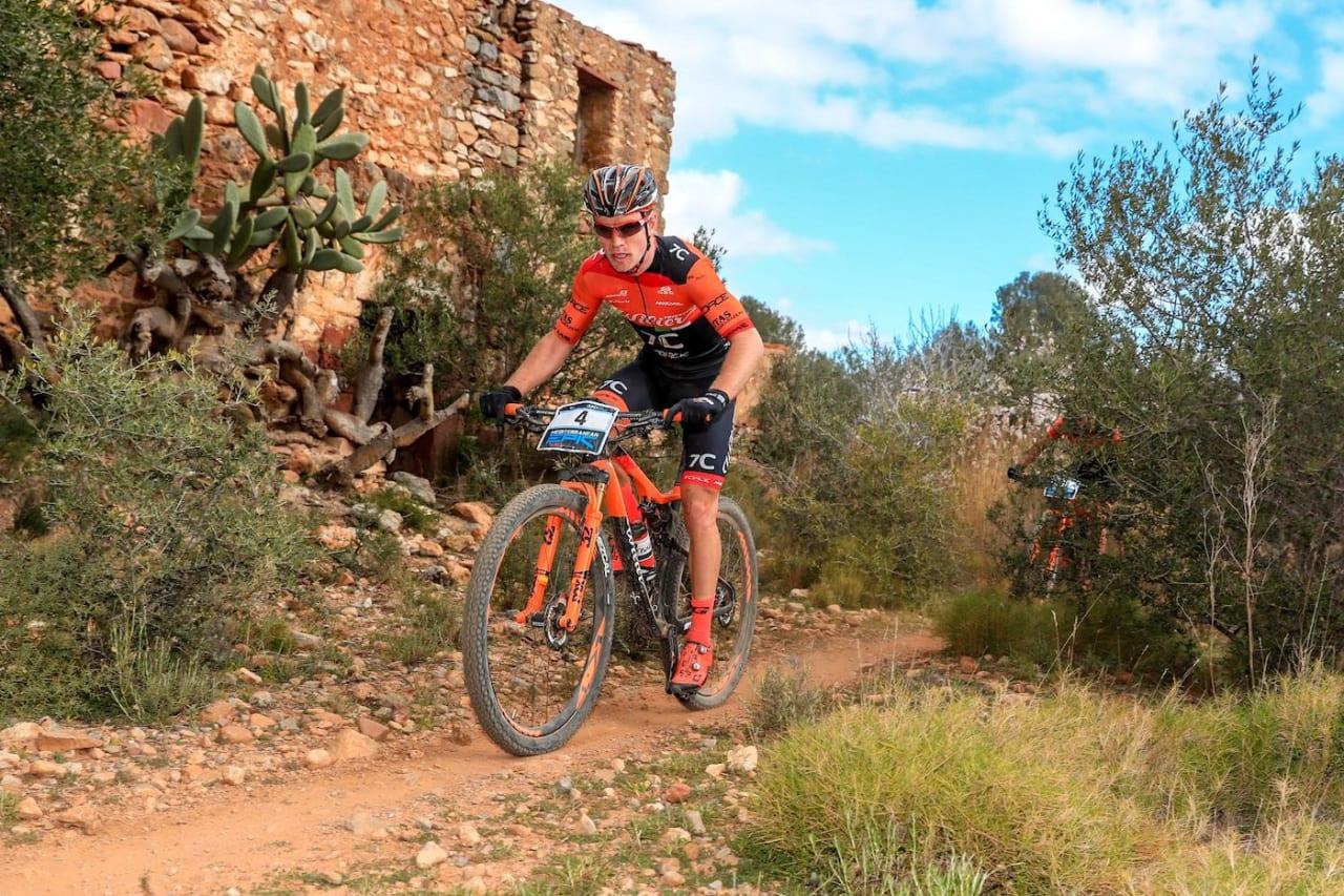 Ole Hem kjørte inn til niendeplass på første etappe av Mediterranean Epic torsdag. Foto: Arrangøren