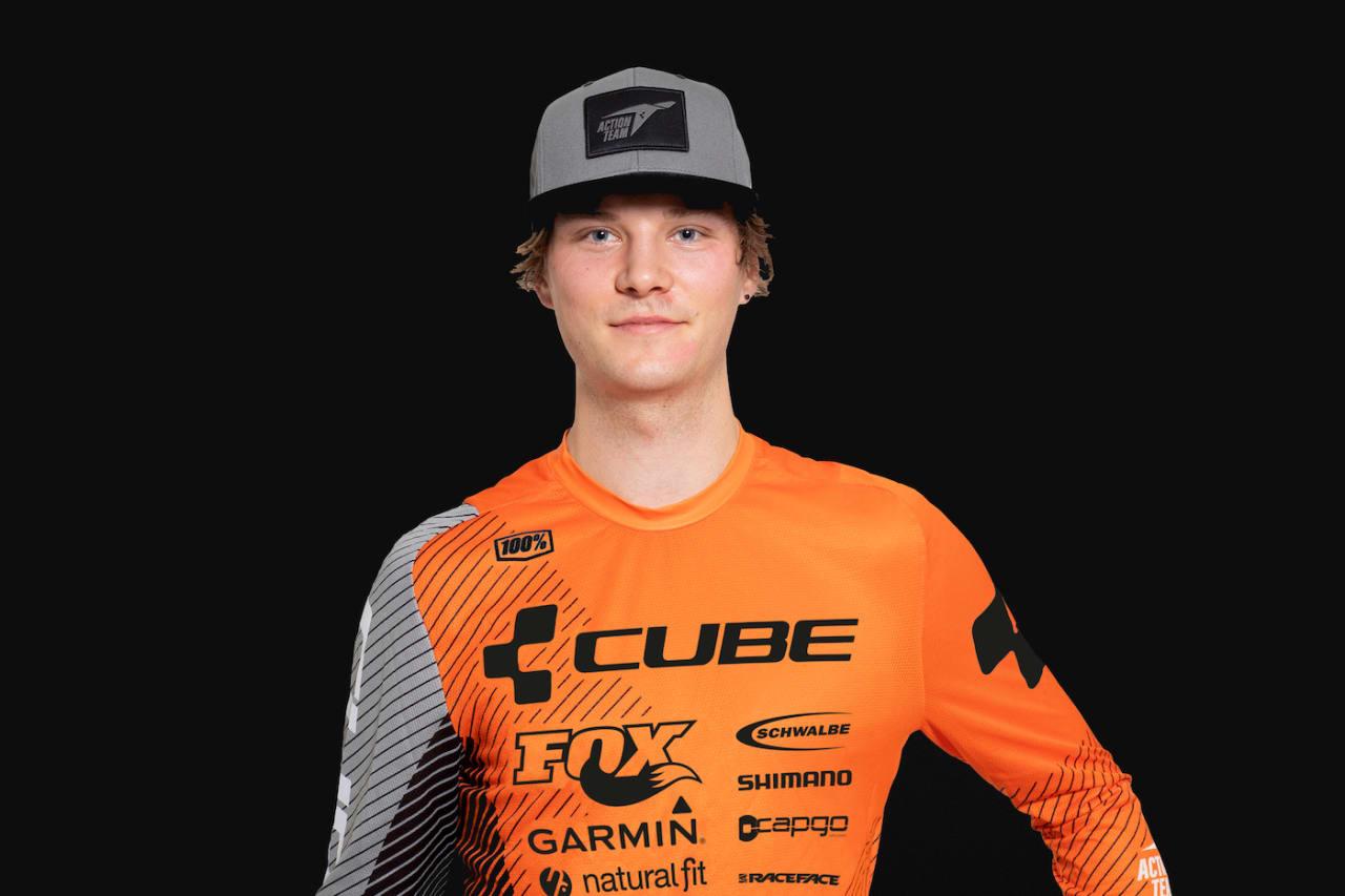 Zakarias Blom Johansen er klar for sin tredje sesong på proffnivå. Foto: Cube Action Team