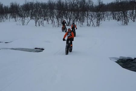 Skal sykle hytte til hytte på Finnmarksvidda