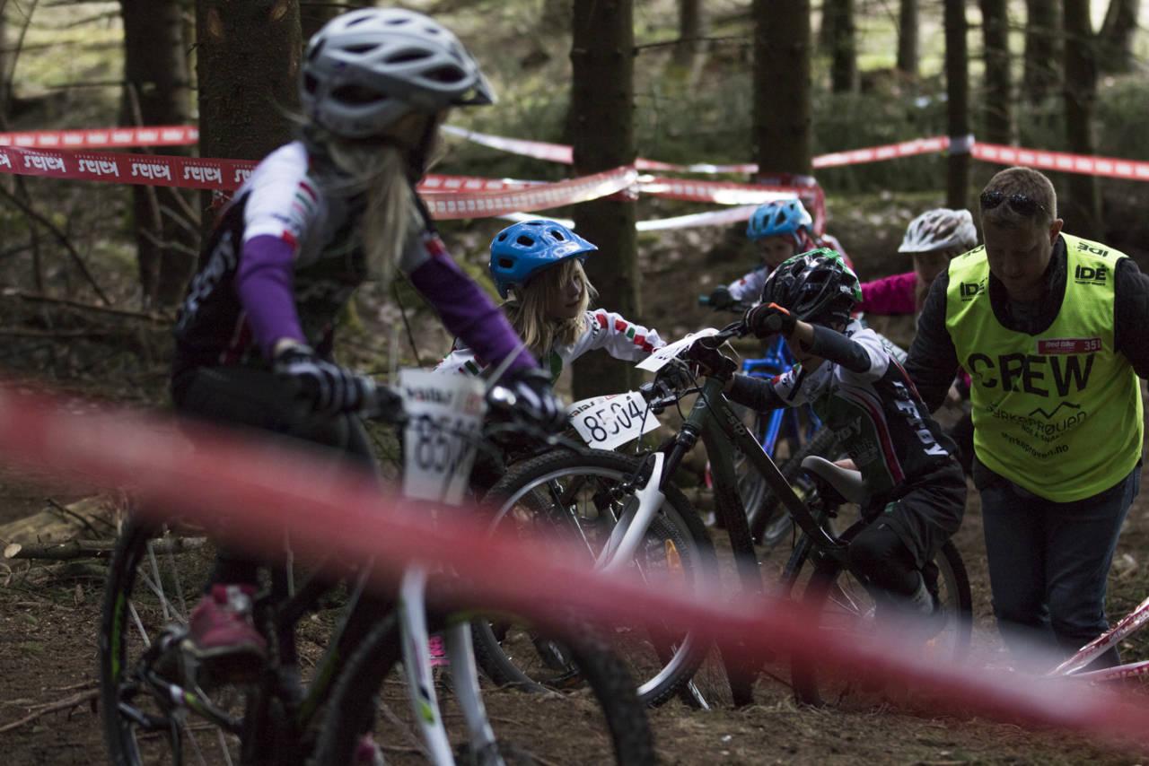 I Kalas Cup er det klasser for ryttere fra seks år og eldre, og årets cup består av totalt åtte ritt. Foto: Per-Eivind Syvertsen