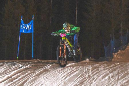 William Scheele syklet i klassen M15-16. Foto: Morten Dodson