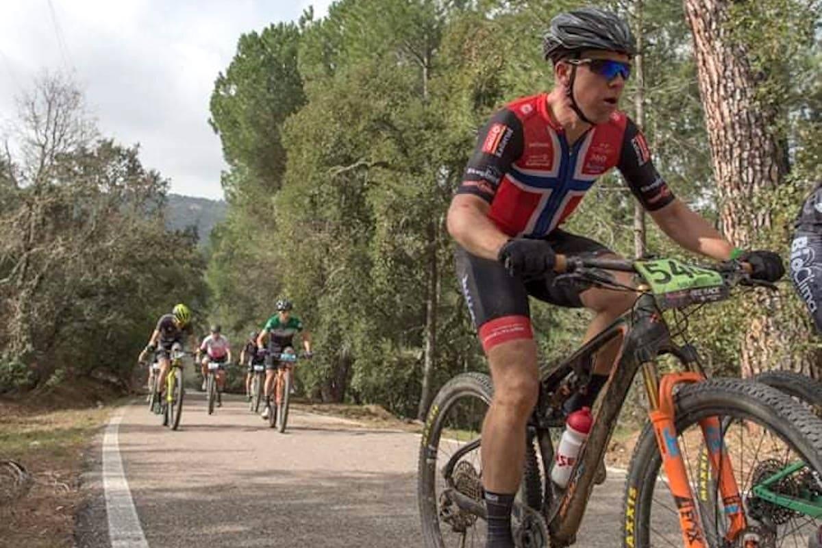 Roar Sollie på fjerdeplass på dronningetappen i Andalucia Bike Race