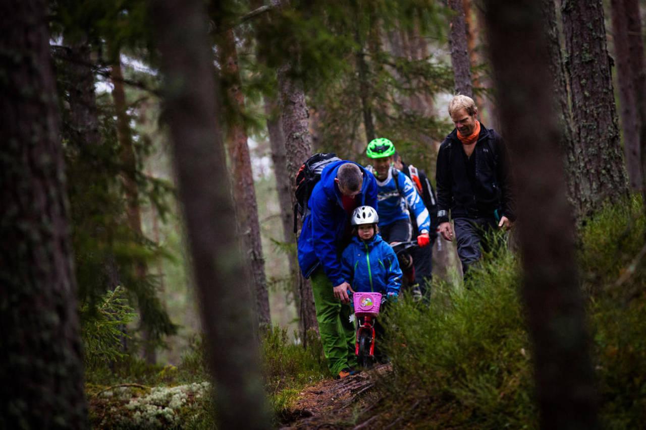 """""""Stisykling – en del av Oslo som sykkelby, idrettsby og friluftsby"""" er tittel for temakvelden i forbindelse med årsmøtet til NOTS Oslo & Omegn førstkommende tirsdag. Foto: Snorre Veggan"""