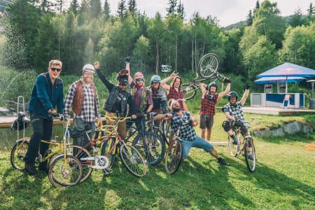 Klunker-race er blitt en klassiker på Huckfestprogrammet, og er også med på årets utgave. Foto: Hillbilly Huckfest