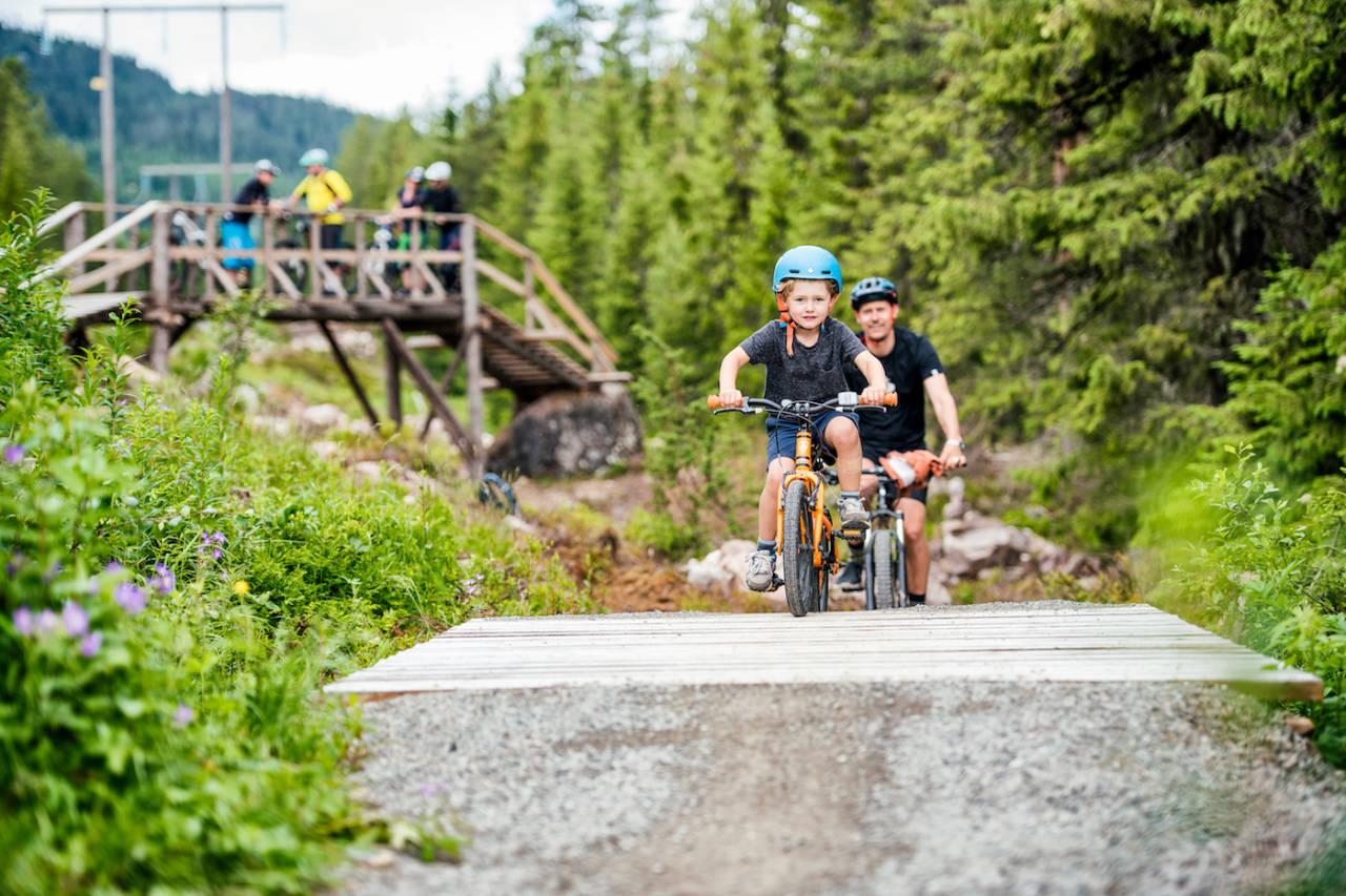 Sykkelsatsingen i Trysil har bidratt til å skape arbeidsplasser og utvikling i hele kommunen. Foto: Hans Martin Nysæter