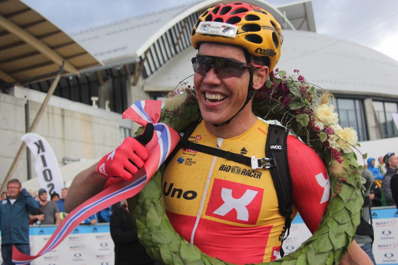 Erik Nordsæter Resell vant Birkebeinerrittet for andre år på rad. Foto: Ingeborg Scheve