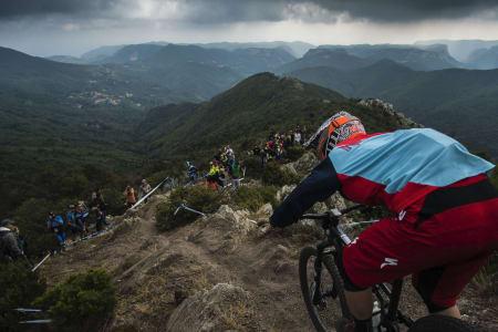 Finale Ligure var ikke en del av den ordinære Enduro World Series, men kommende helg blir tidenes første VM i enduro avholdt i sykkelbyen på den italienske rivieraen. Foto: Enduro World Series