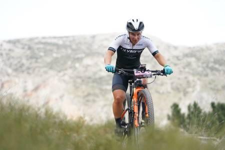 Hildegunn Gjertrud Hovdenak i Andalucia Bike Race 2020