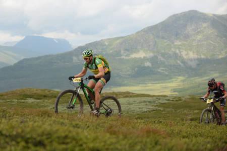 Lars Ragnar Manengen fikk lagt inn en skikkelig langtur med Offroad Valdres på 150km og drøyt 9 timer i grovt terreng på lørdag. Slikt monner som oppkjøring mot UltraBirken, sier løypeleggeren. Foto: Kent Murdoch